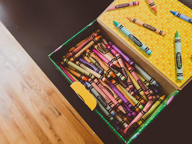 How To Get Crayon Off Walls